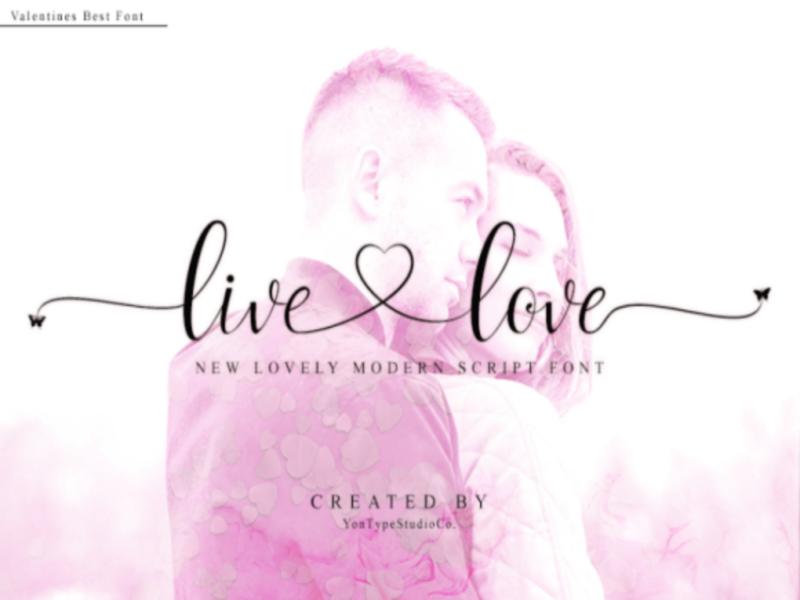 live love font pretty font cute fonts branding font wedding font valentines font script font font awesome font typeface hand lettering branding design