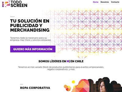 Todo Screen Web design website typography minimal vector web ux branding design