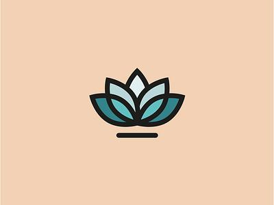 Lotus logo design vector simple logo design illustration graphic design design graphic flower logo