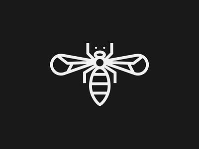 Bee logo line work animal logo graphic designer illustration design graphic