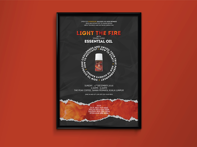 Light The Fire EO Poster