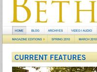 College Magazine Website