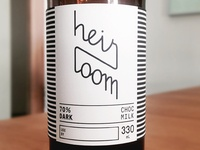 Heirloom Choc Milk Labels