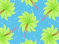 Green Palm Tree-like Flowers