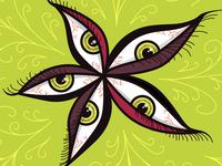Green Eyes Flower