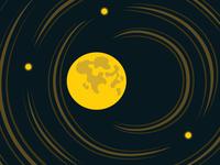Moon And Stars Dream