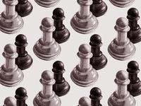Chess Pawns Pattern