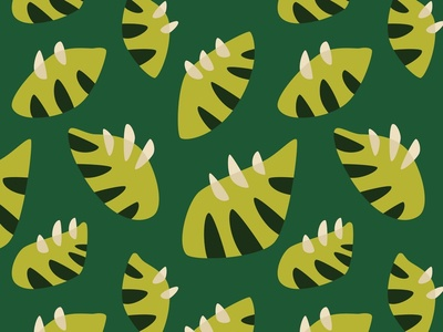 Clawed green leaves pattern botanical green leaf green leaves vector illustration green pattern abstract nature plants leaves leaf