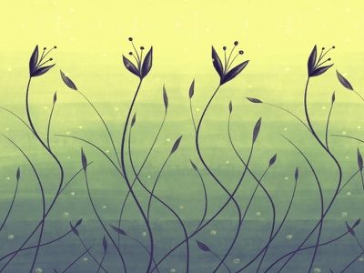 Water plants in swamp abstract art flowers flora nature plant illustration illustration abstract botanical algae floral flower plant swamp water