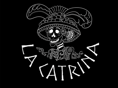 Dia de Muertos La Catrina