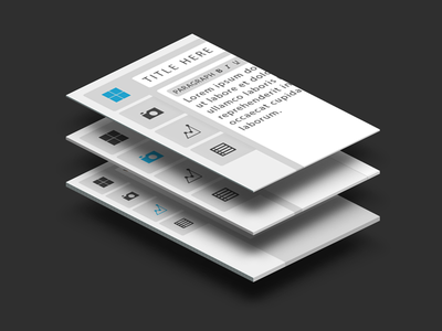 WordPress Front End Editor Perspective - Concept wordpress front end editor flat flat wordpress