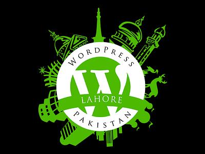 WordPress Pakistan LOGO wordpress wordcamp pakistan logo badge