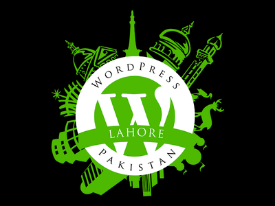 WordPress Pakistan LOGO wordpress wordcamp pakistan logo badge