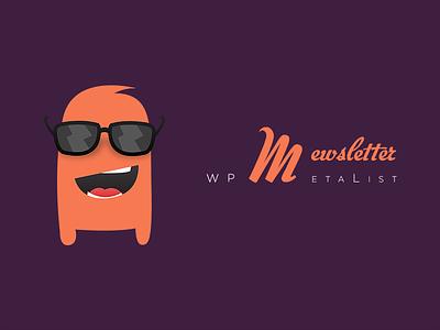 Mascot For WPMetaList.com's *Mewsletter