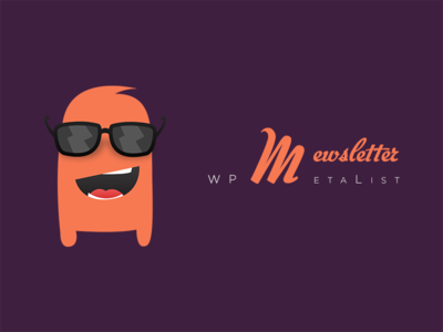 Mascot For WPMetaList.com's *Mewsletter