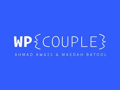 The WordPress Couple 💙 development tech blue couple wordpress