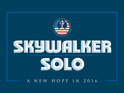 Star Wars Political Yard Sign