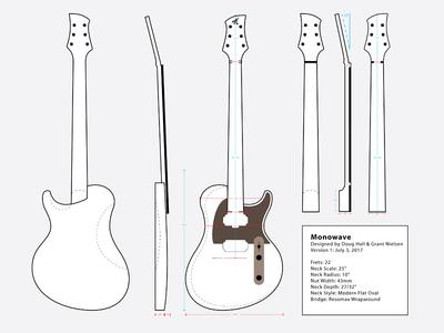 Monowave Guitar Concept