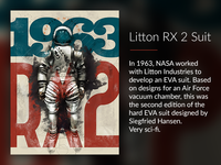 Litton RX 2 Poster