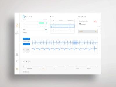 CAST Light Mode heart ecg desktop saas app saas productdesign design uxui ui ux