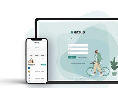 Eazup ecommerce app ecommerce web platform website ui ux