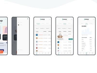Eazup - Full Poject In The Description app mobile design mobile app design mobile app mobile ui mobile productdesign uxui ui ux design