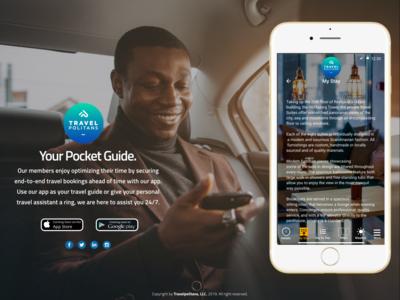 Travelpolitans Mobile App Ad #02