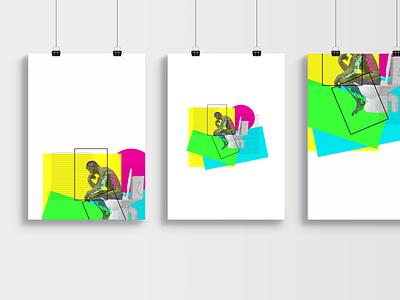 RODIN'S THINKER graphicdesign geometry geometric design geometric toilets poster design posters poster minimalism rodin abstract abstract design statue minimalist abstract art design art illustrator designs design graphic design
