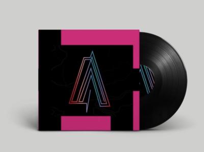 music logo logo design music music art vinyl record vinyl cover vinyl typography design typography art typographic typogaphy abstract minimalist vector branding logo design art graphicdesign design designs design graphic