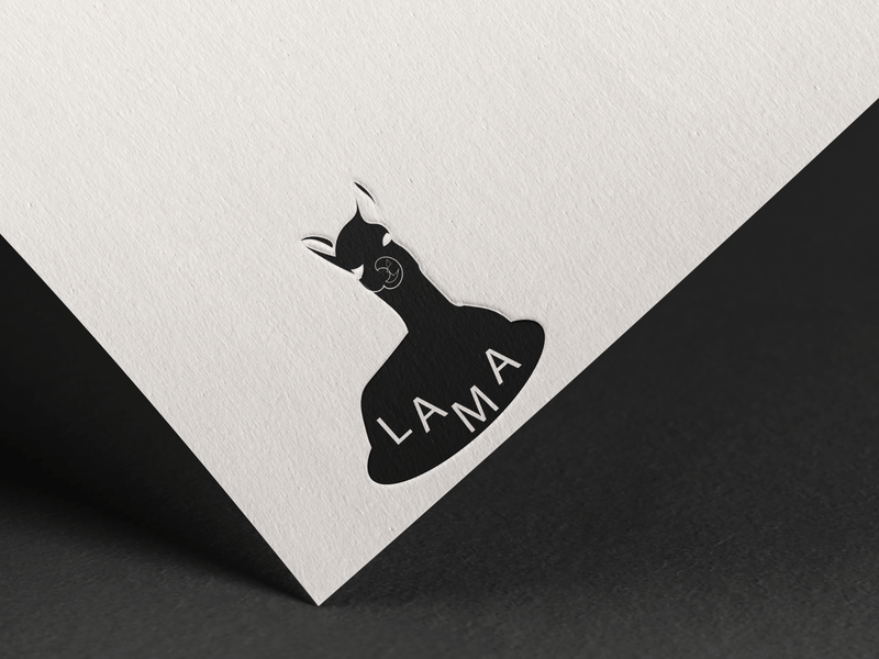 Lama drawing lineart minimalist design art graphic illustrator lama branding logo illustration graphicdesign designs design graphic