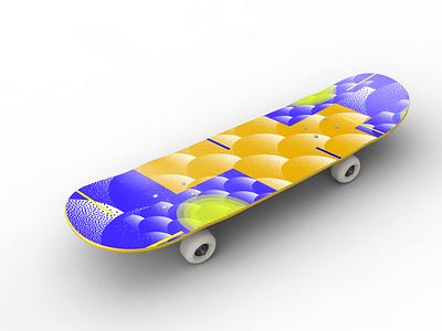 Skateboard skateboards skating color skateboarding geometricart geometric skateboard skate abstract art design graphic designer minimalist illustration illustrator design art graphicdesign design graphic
