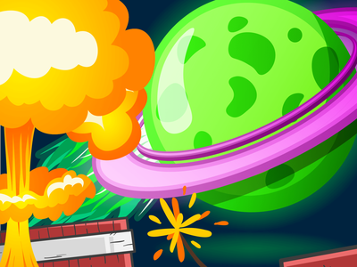 boom apocalyptic abstract art colors art drawing dribbble illustration dribbble apocalyptic apocalypse boom planet designs designer posters illustration illustrator graphic design design art graphicdesign design graphic