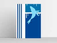 WHALE dribble baleine mer blue sea oceanart ocean abstract art minimalist illustrator graphic illustration design art designs graphicdesign design graphic whales whale