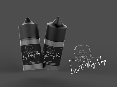 Light My Vap electronic cigarette marque jim morisson branding design graphic minimalist typogaphy logotype logo illustrator designs design art graphicdesign branding brand identity design graphic