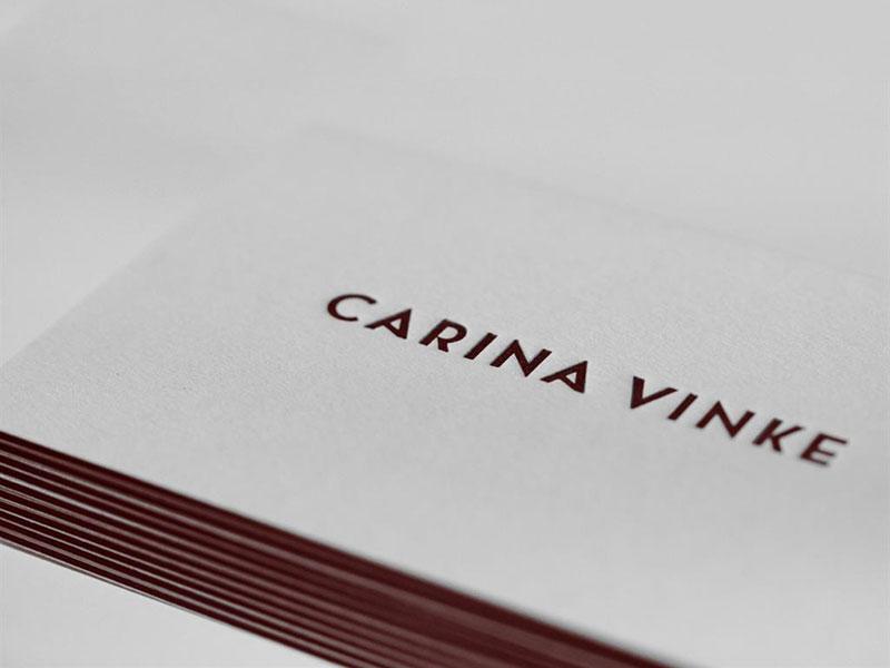 Carina vinke business cards by rens dekker dribbble colourmoves