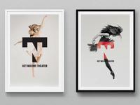 Het Nieuwe Theater poster design