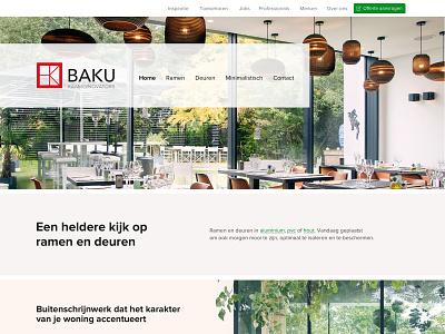 Baku - Window innovators design website webdesign