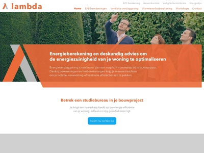 Lambda shapes design website webdesign