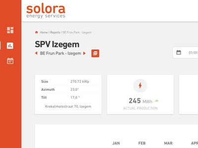 Webapp Energy Services energy webapplication website design application dashboard design
