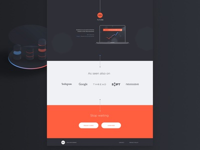 Thoughtspot Case Study graph ux ui hero home gif data animation product thoughtspot
