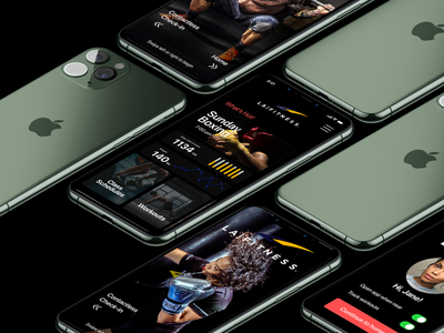 LA Fitness Redesign sports workout workout app sports app fitness app redesign branding design uiux lafitness fitness ux ui