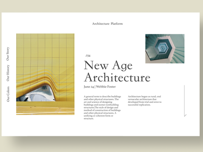 Architectural Page editorial design newsletter architectural web design agency web designer website web design landing page architecture design architecture webdesign business ux design hero section branding uiuxdesign uiux design ui ux