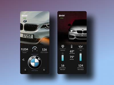 BMW Mobile  Car App mercedes-benz bmw app bmw starter bmw remote starter car system mobile car app mobile car car remote car starter cars car typography ux design uiuxdesign uiux design ui ux