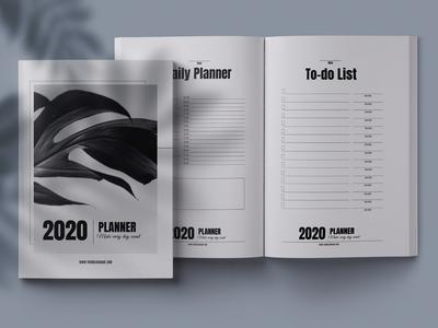 2020 planner / calendar kit