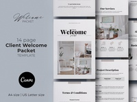 Client Welcome Packet Canva Template