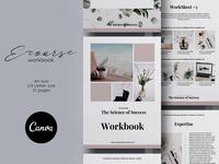 Canva Ecourse Workbook Template