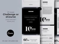10-day Challenge Canva Workbook Template