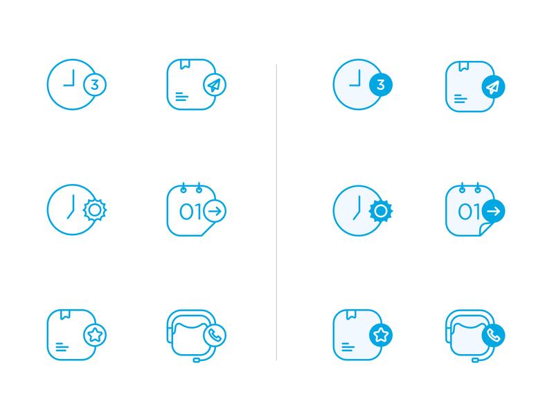 Icon set v1.