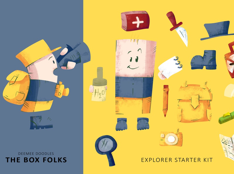 THE BOX FOLKS explorer