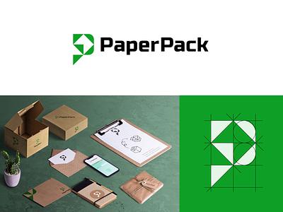 PaperPack Logo thirtylogos logo challenge logotype paper logo paperpack logocore logochallenge logo designer minimalist logo design branding logodesign logo